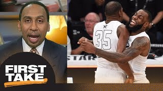 Stephen A Smith on the 2018 NBA All-Star Game: I give it an A | First Take | ESPN