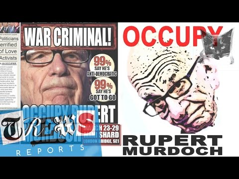 Occupy Rupert Murdoch & the Media Billionaires - Russell Brand Trews Reports (E13)