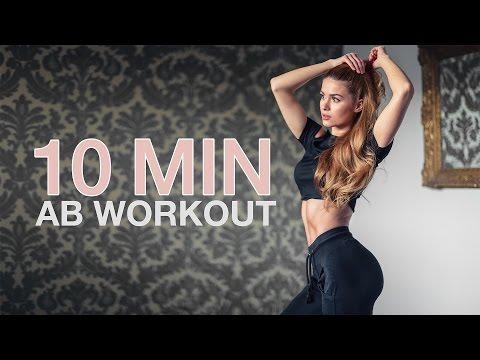 10 MIN INTENSE AB WORKOUT // No Equipment | Pamela RF