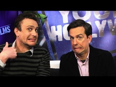 Jason Segel & Ed Helms's Best Pick-Up Lines! - STUDIO SECRETS
