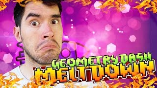 EN MI PRIMER INTENTO!! | Geometry Dash Meltdown - JuegaGerman