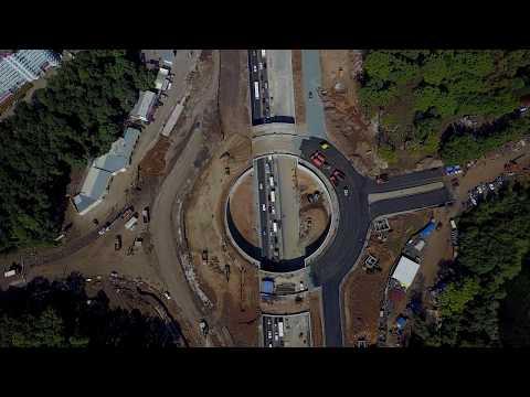 Реконструкция Московского шоссе от ул. Ташкентской до Ракиты (г. Самара)