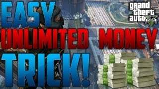 """GTA 5 ONLINE"" - How To Get UNLIMITED MONEY on Grand Theft Auto 5! Easiest Way To Get Cash (""GTA V"")"