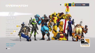 OW Competitive Climbing LIVESTREAM!! - Broody plays: Overwatch #16