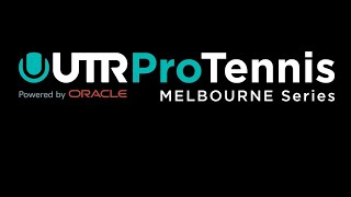 UTR Pro Tennis Series Melbourne Thursday 2nd July
