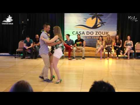 Casa do Zouk 2015 - Brazilian Zouk Invitational 3rd Place