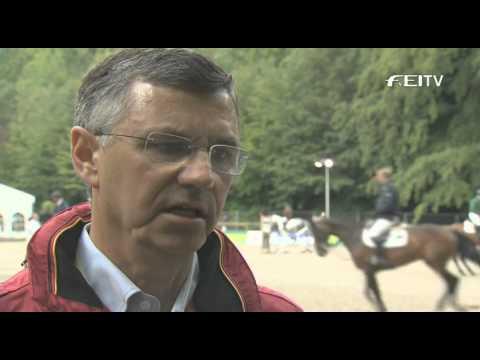 FEI European Jumping championships 2011 – Otto Becker