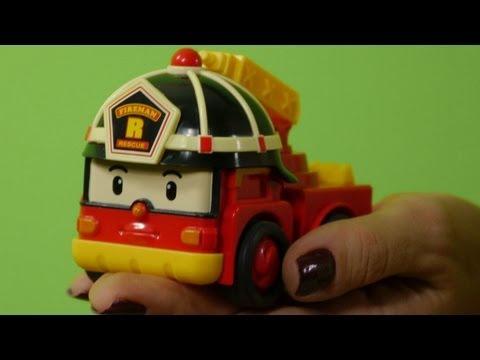 Мультфильмы про машинки - презентация машин спасателей из мультфильма Робокар Поли