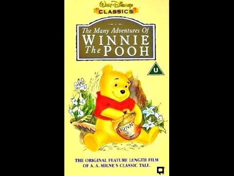Pooh Vhs 1997 The Pooh 1997 uk Vhs