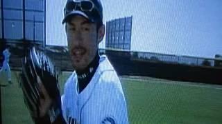 Funny Ichiro Suzuki Clip, Seattle Mariners Spot!