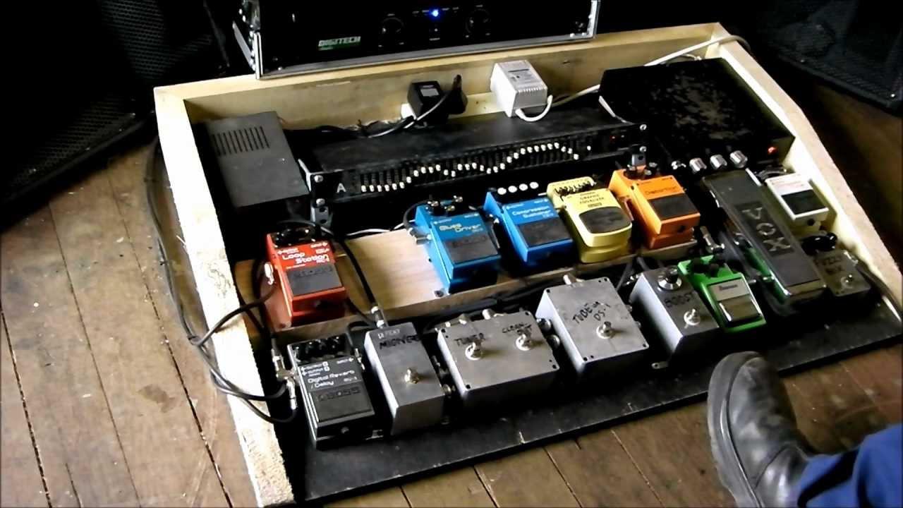 Guitar Pedals Board Guitar Pedal Board