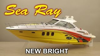 "Распаковка New Bright ""Sea Ray"""