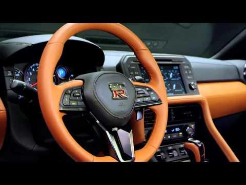 2017 Nissan GT-R - Interior Design Trailer | AutoMotoTV