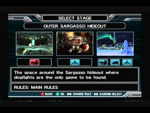 Let's Play Star Fox Assault - Versus Mode #6 - Enter Star Wolf