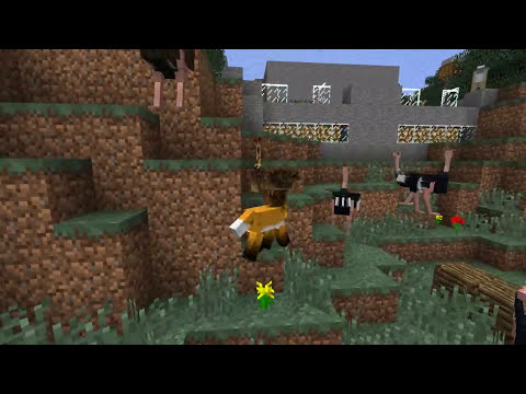Minecraft Mods | MORPH HIDE AND SEEK - Mo' Creatures! (Morph Mod)