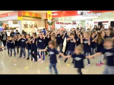Детский танцевальный флешмоб Study-On, Челябинск