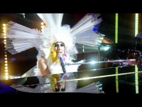 Lady Gaga - Brown Eyes, Jonathan Ross 2010 video