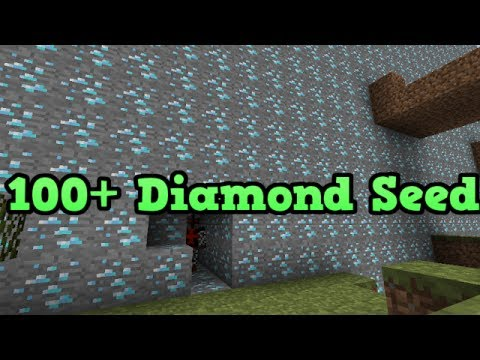 "Minecraft PS3 - 100+ Diamonds Seed (Blacksmith Chest and Extreme Hills) ""TU14"""