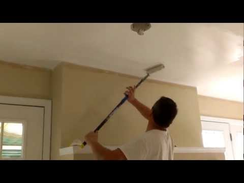 How to paint ceilings in 10 minutes