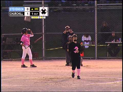 Sports Spotlight - Livonia High School Girls Softball - Churchill vs Stevenson