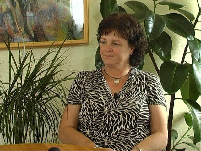 ARCKÉP, munka közben Zsírosné Pallaga Mária Hernád polgármestere