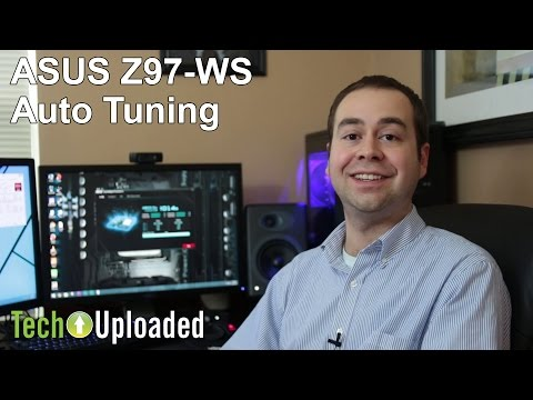 Playing around with ASUS Z97-WS Auto Tuning