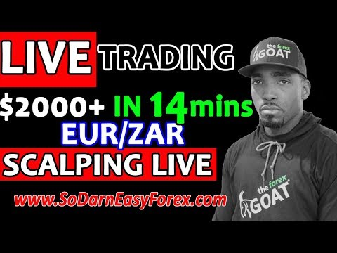 (LIVE TRADING) $2000 IN 14 Mins SCALPING LIVE - So Darn Easy Forex™