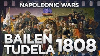 Battles of Bailen and Tudela 1808 - Napoleonic Wars DOCUMENTARY