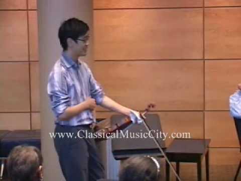 Soovin Kim on big violin shifts