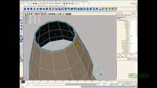 Maya Tutorial:  Table Lamp - Part 1 (Modeling)