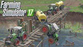 """Farming Simulator 17 """"FENDT W ROSJI"""" #4☆ Utopiony Fendt i Wywóz gnojowicy(Dymy) ㋡ MafiaSolec Team"""