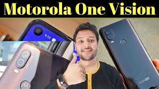 Motorola One Vision Launched - Price, Specs - Mid Range Phone with 48MP, Punch Hole, TurboPower