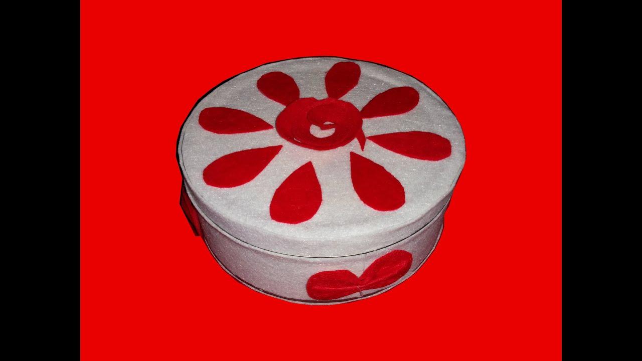 Decorar caja de galletas diy youtube - Cajas para decorar ...