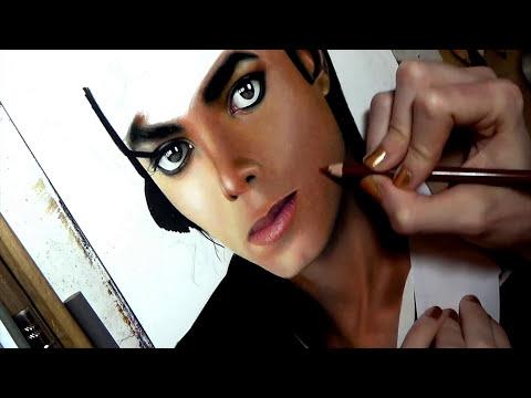 Drawing Michael Jackson