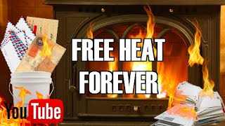 FREE HEAT FOREVER! (DIY)