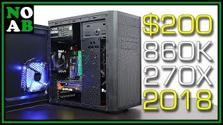 $200 BUDGET GAMING PC vs. Far Cry 5, Fortnite, PUBG, GTA5, Overwatch, and MORE