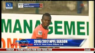 Sports This Morning: Updates From 2016/2017 NPFL Season 30/01/17