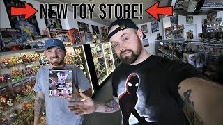 TOY HUNTING AT TOY HUNTERS STORE - NEW MARVEL LEGENDS, HOT TOYS, STAR WARS BLACK SERIES!!