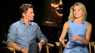 Annabelle: Ward Horton & Annabelle Wallis Exclusive Interview talks Acting as Housewife
