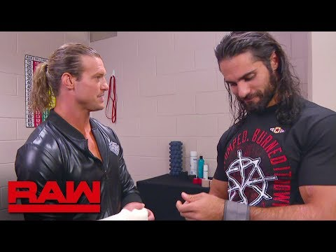 Seth Rollins and Dolph Ziggler meet in the trainer's room: Raw, Sept. 17, 2018 thumbnail