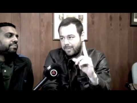 DANNY DYER - RAW & UNCUT INTERVIEW / ON SET OF BRITISH FILM 'VENDETTA' (iFILM LONDON EXCLUSIVE)
