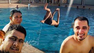 Playing with friends in the water Saudi Arabia اللعب مع الأصدقاء في الماء المملكة العربية السعودية