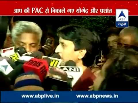 ABP News debate ll Is it a curse to raise voice in Aam Aadmi Party?