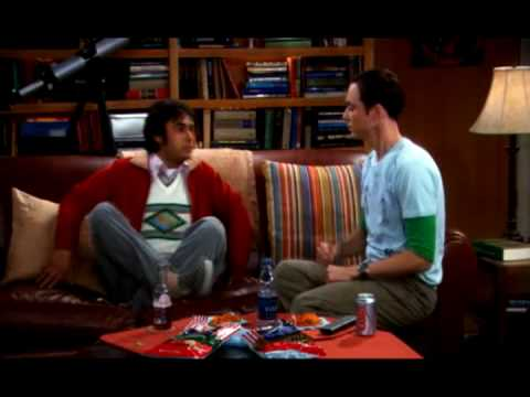 The Big Bang Theory - Schere, Stein , Papier, Echse, Spock (GERMAN)