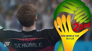 Все голы Андре Шюррле в FIFA 14 на Чемпионате Мира 2014