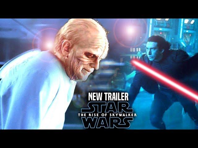The Rise Of Skywalker New Trailer HUGE News Revealed! Star Wars Episode 9 Trailer 3