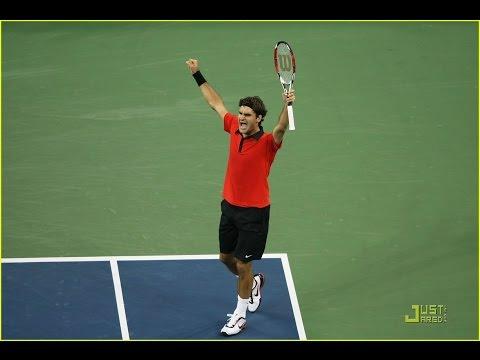 Roger Federer vs Novak Djokovic Highlights HD US Open 2009 SemiFinals