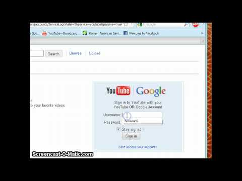 how to choose default google account
