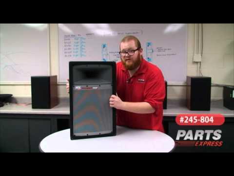 MTX Thunder Pro 12in 2 way PA Speaker