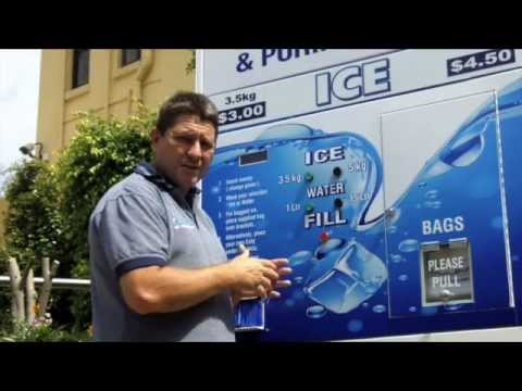 Iced Tea Vending Machine Cool-serve Ice-vending Machine